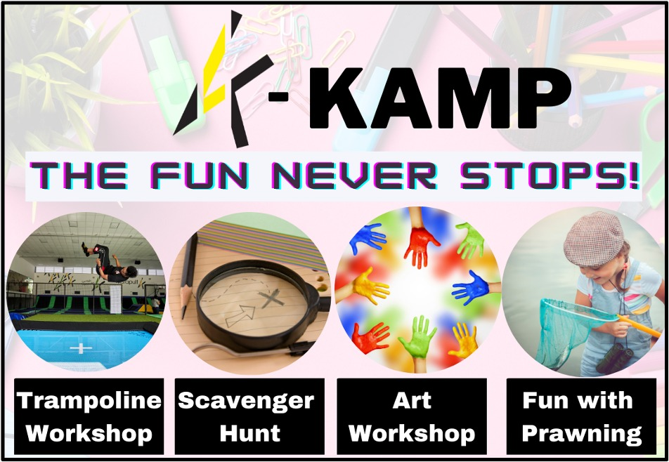 Our K-KAMP is back by popular demand! Find out more by clicking here